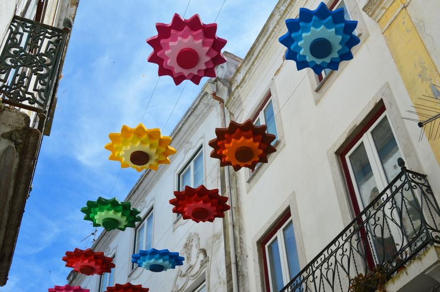 Camadas de Girassóis e Umbrella Sky Project - Beja'17