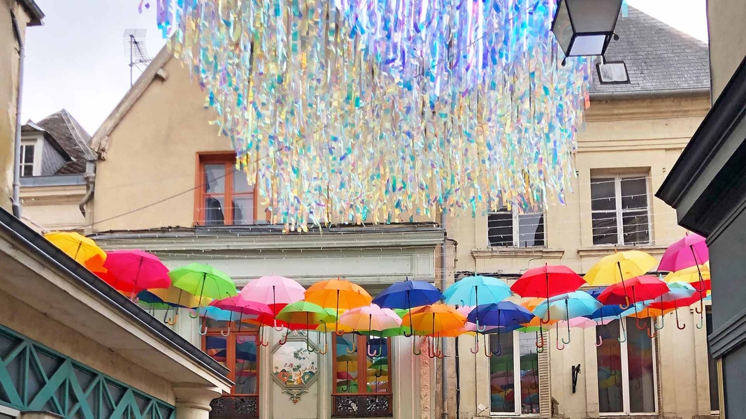 Umbrella Sky Project and Shiny Rain - Laon'19