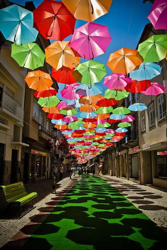 Umbrella Sky Project - Águeda'12
