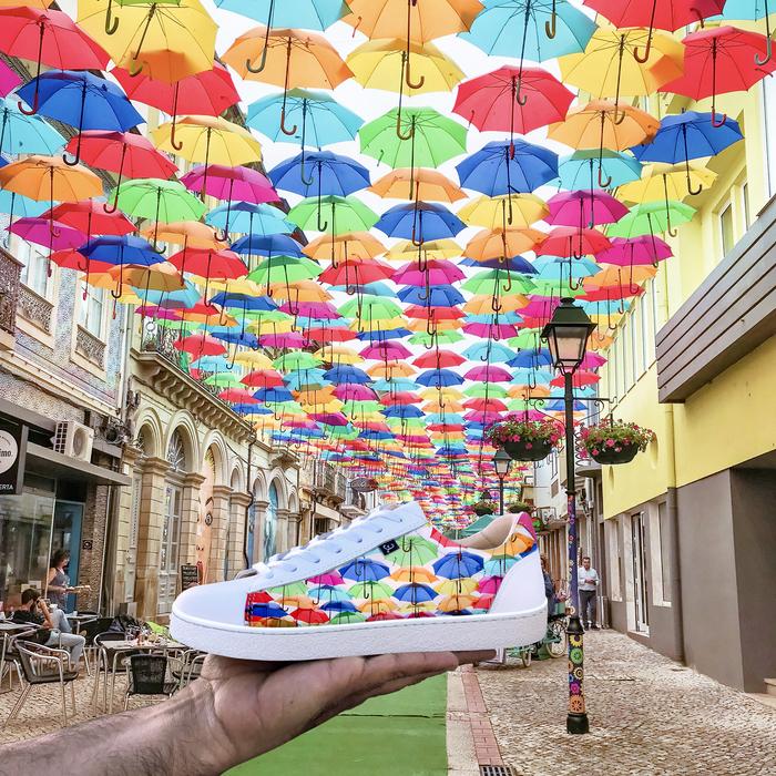 "Sneakers ""Walk with Art"" 4"