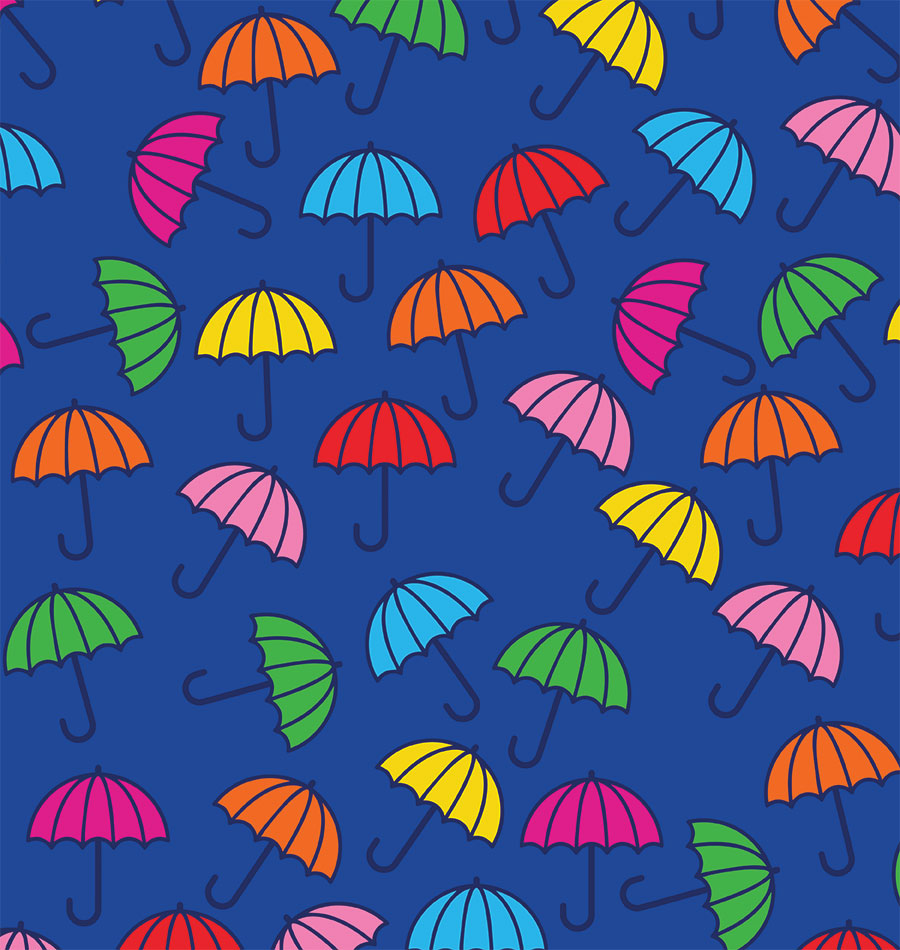 Colorful umbrellas 0