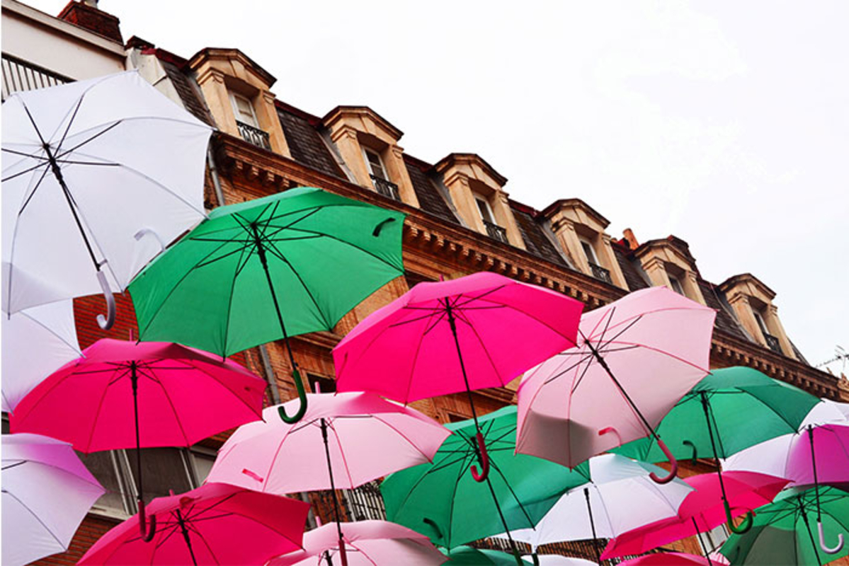 Umbrella Sky Project - Toulouse'160
