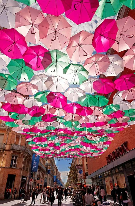 Umbrella Sky Project - Toulouse'161