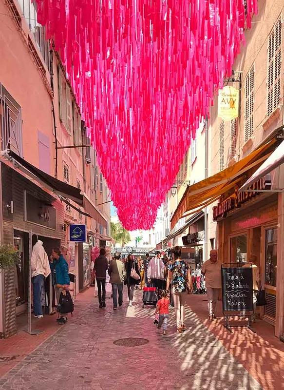 Pluie rose - Sanary-sur-Mer '181