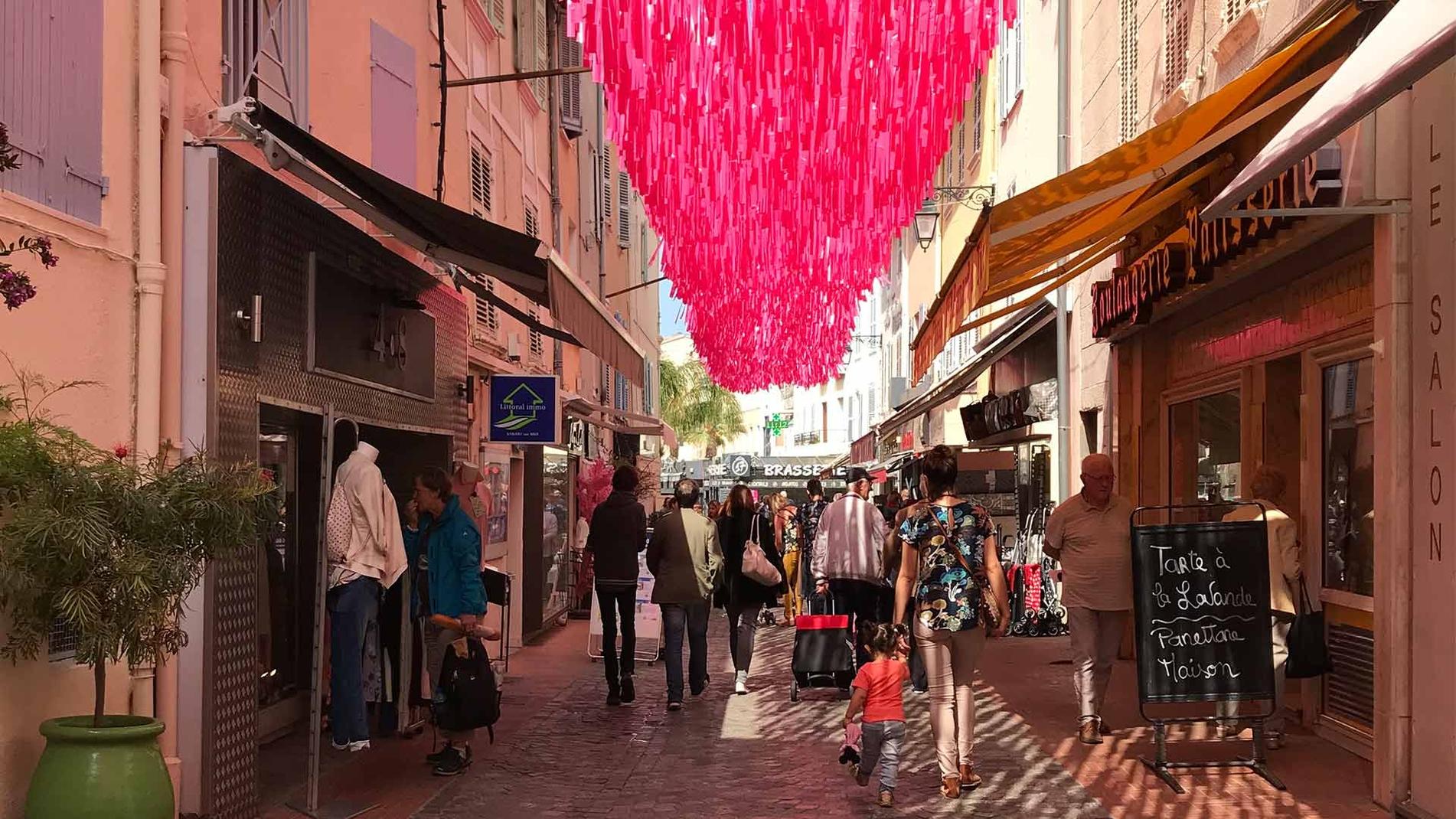 Pluie rose - Sanary-sur-Mer '18