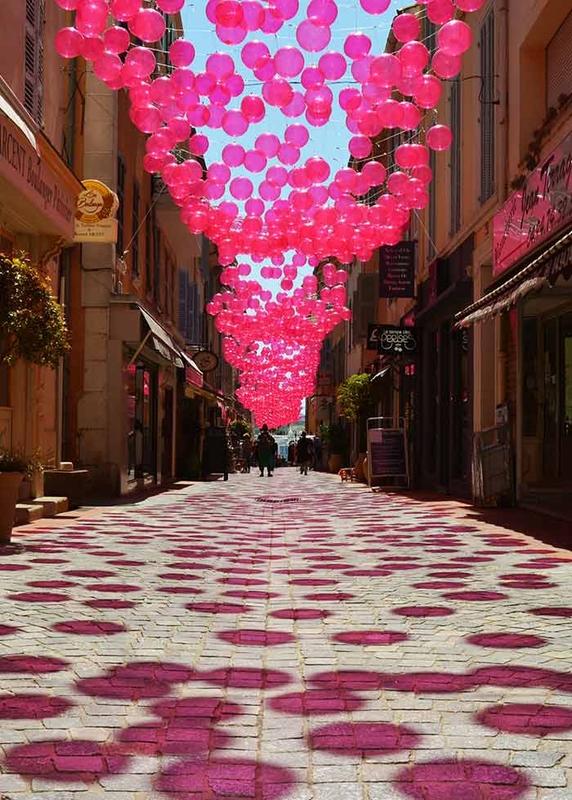 Pink Bubble Sky - Sanary-sur-Mer'170