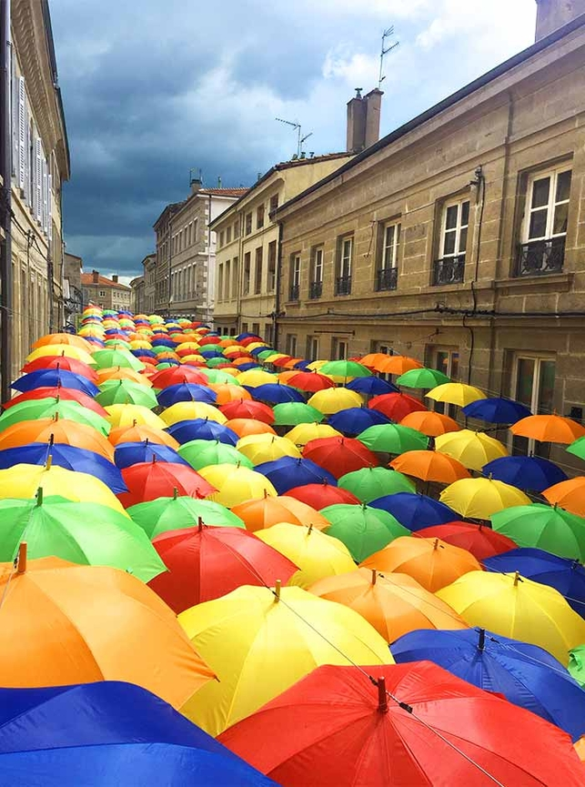 Umbrella Sky Project - Saint-Chamond'16