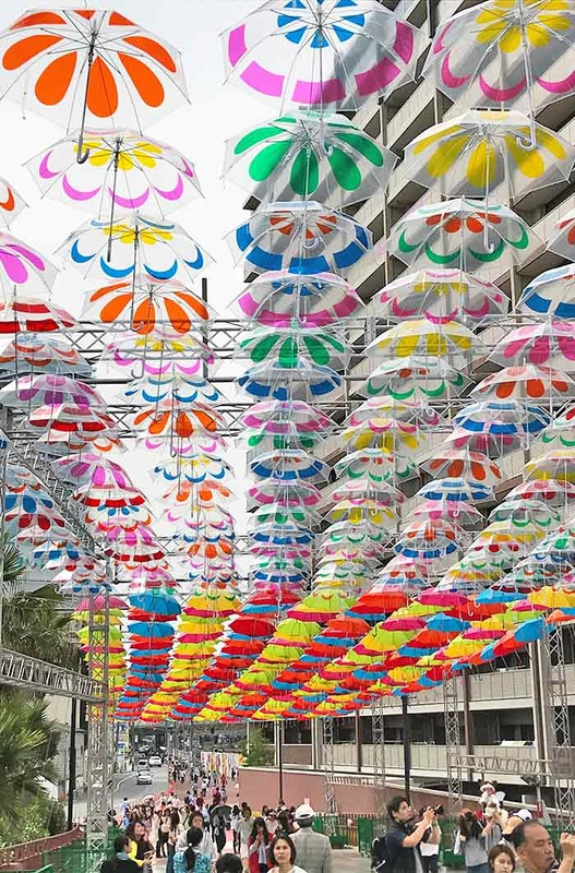Umbrella Sky Project - Hiroshima'181