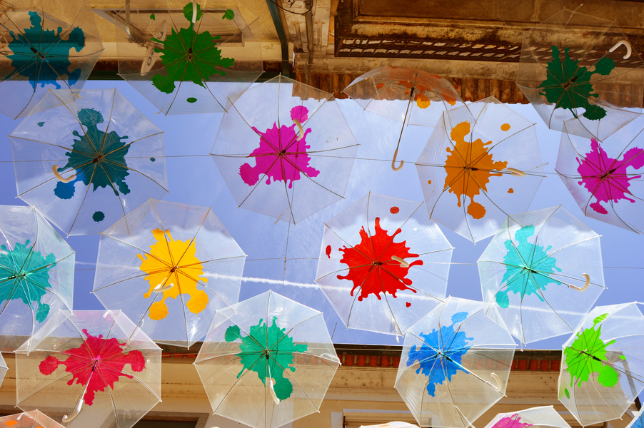 Umbrella Sky Project - Águeda'16