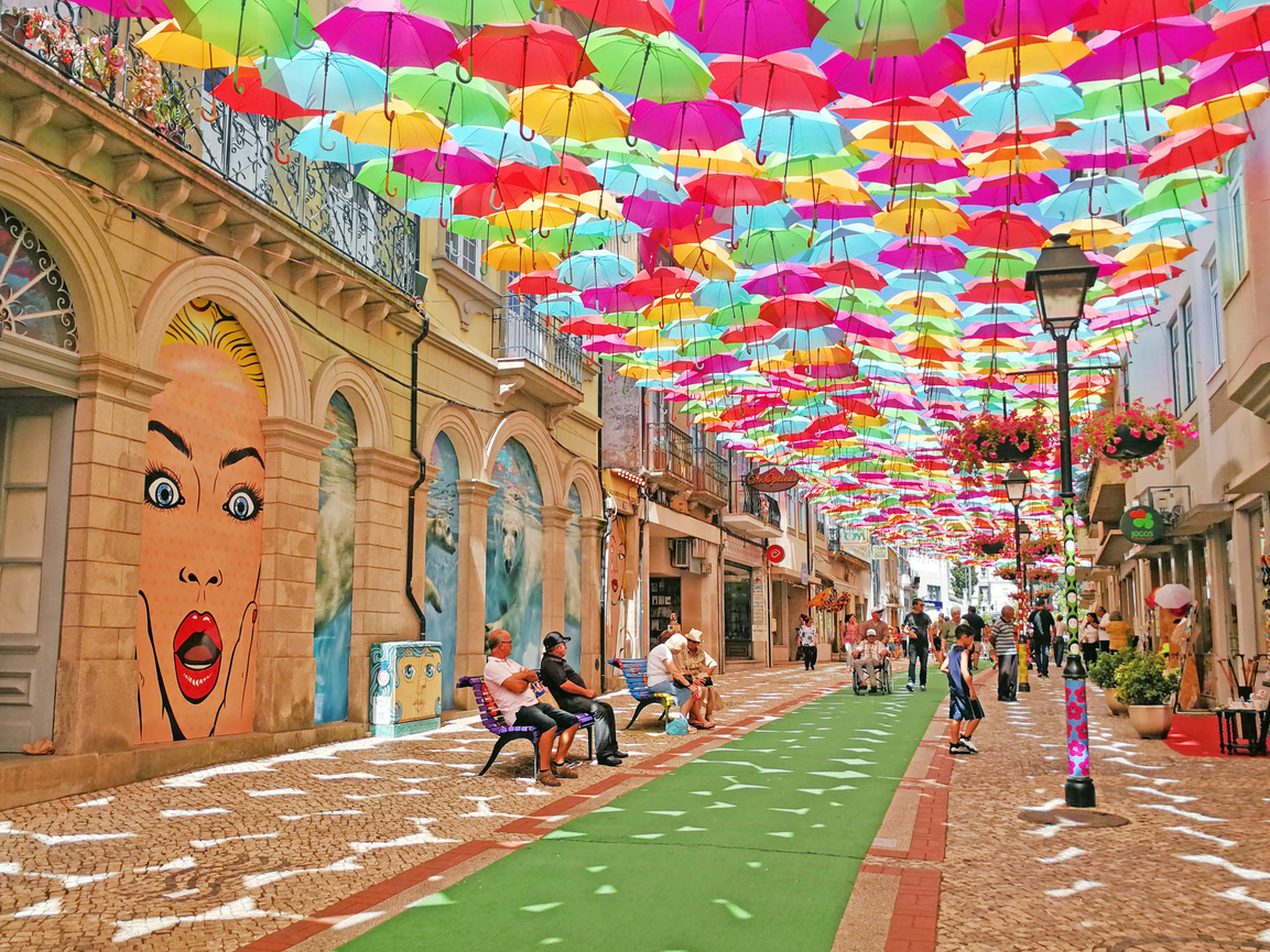 Umbrella Sky Project - Águeda'19