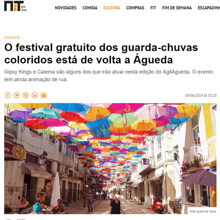O festival gratuito dos guarda-chuvas coloridos está de volta a Águeda 0
