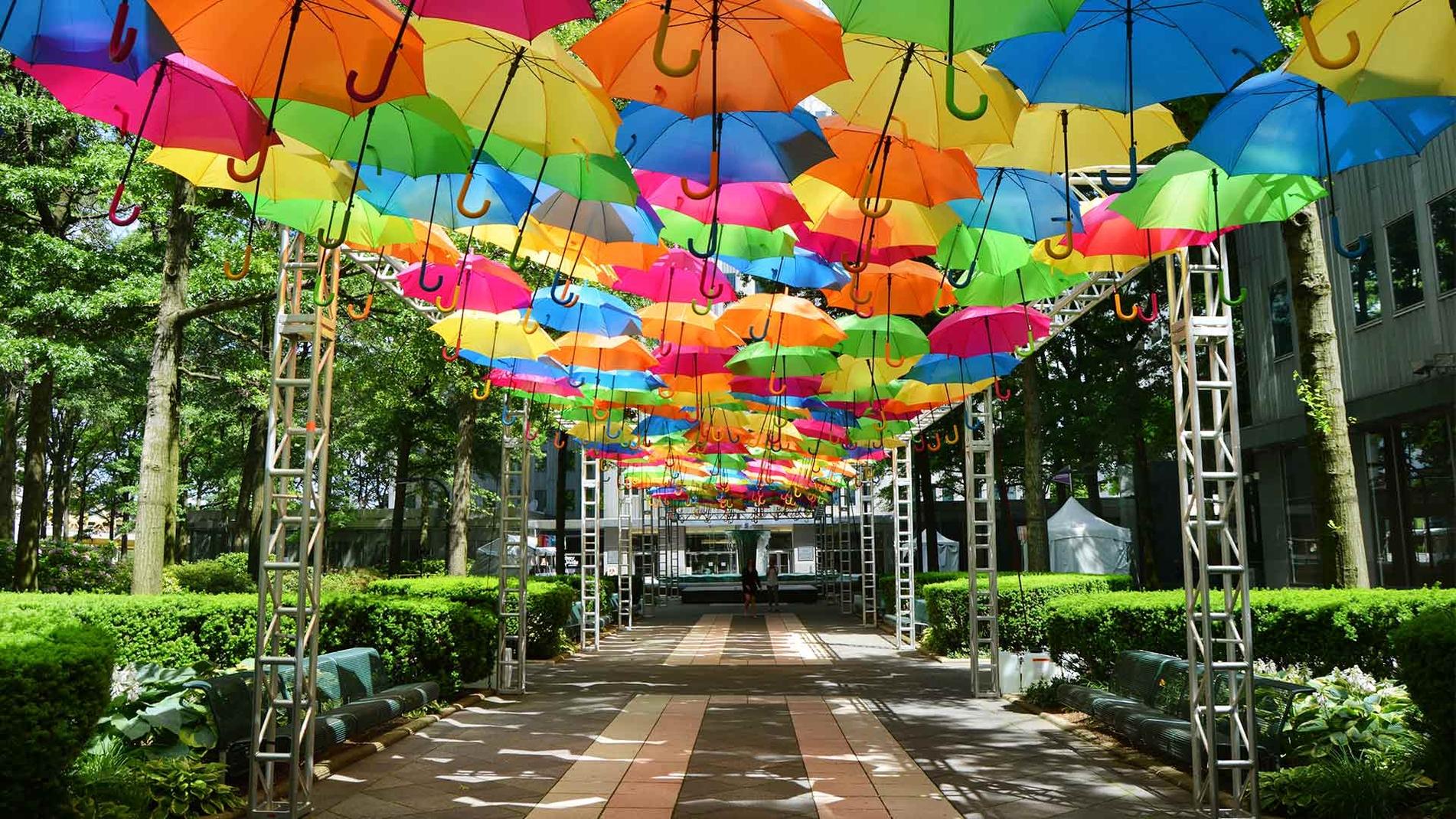 Umbrella Sky Project - Pittsburgh'17