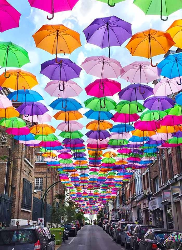 Umbrella Sky Project - Lens'171