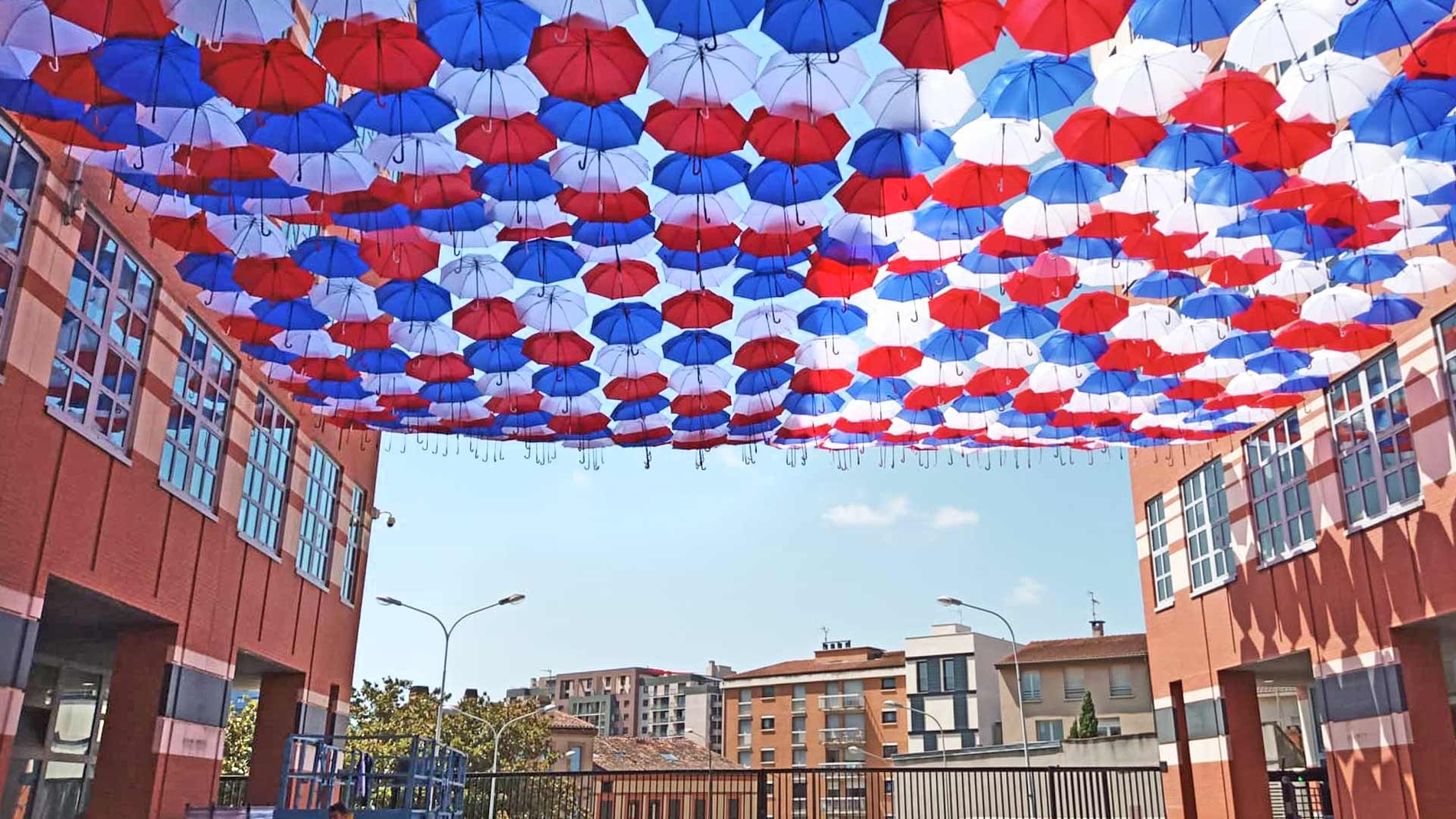 Umbrella Sky Project - Toulouse'19