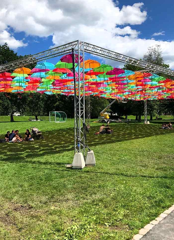 Umbrella Sky Project - Drammen'191