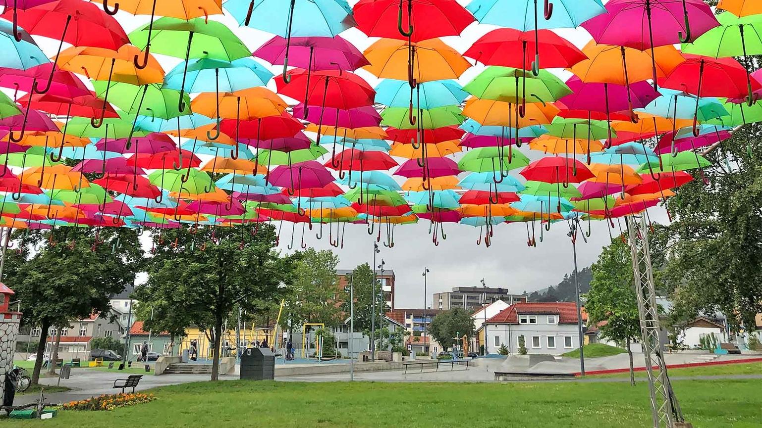 Umbrella Sky Project - Drammen'19