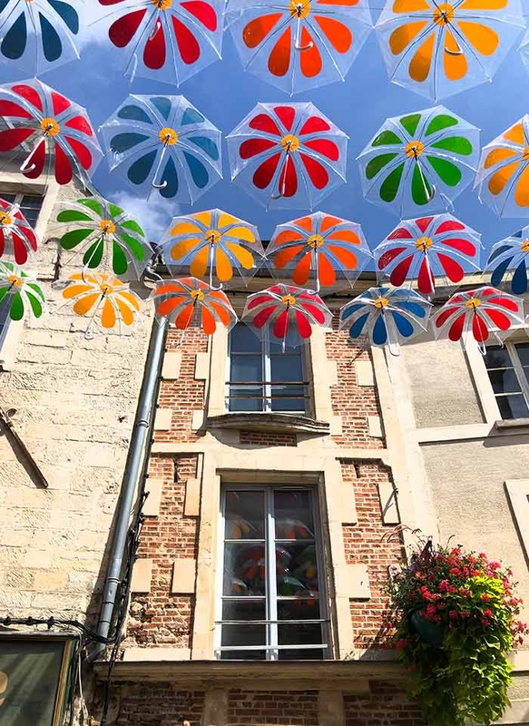 Umbrella Sky Flower Power - Laon'190