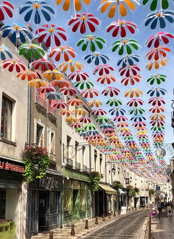 Umbrella Sky Flower Power - Laon'191