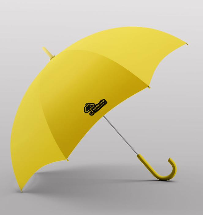 Guarda-chuva 10 - Amarelo