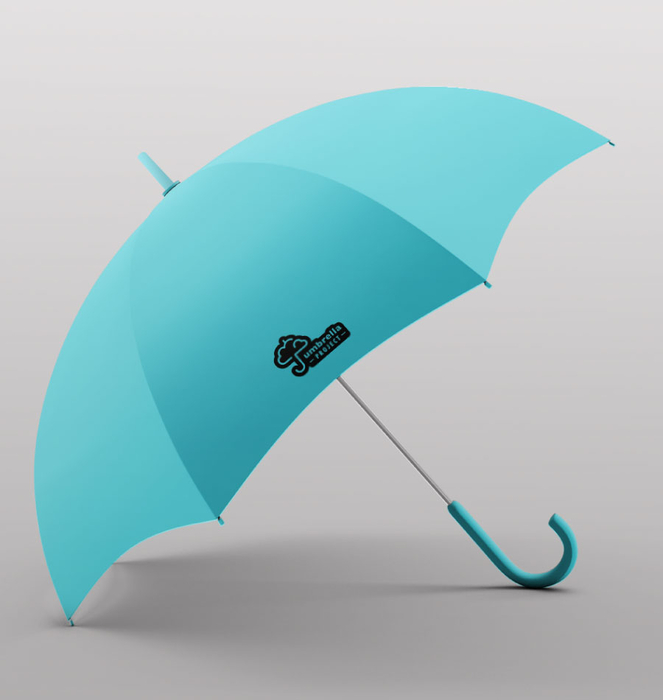 Umbrella 12 - Azul Turquesa
