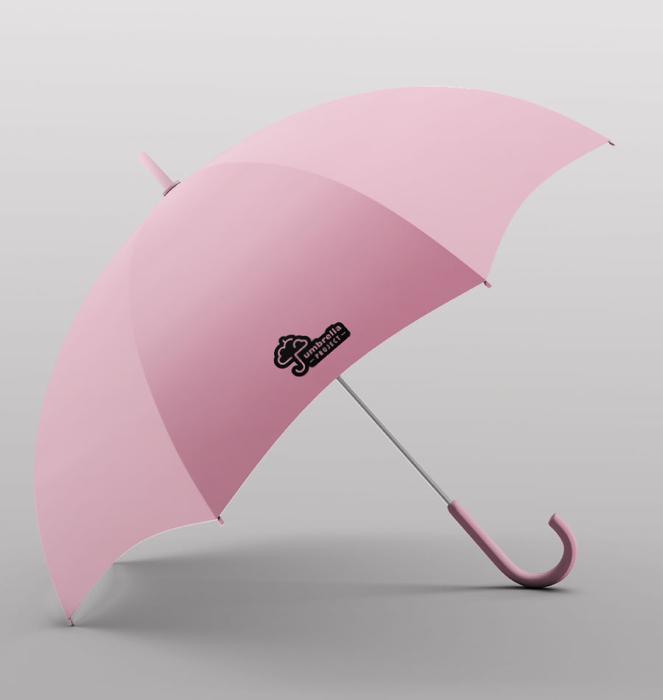 Guarda-chuva 17 - Rosa Claro