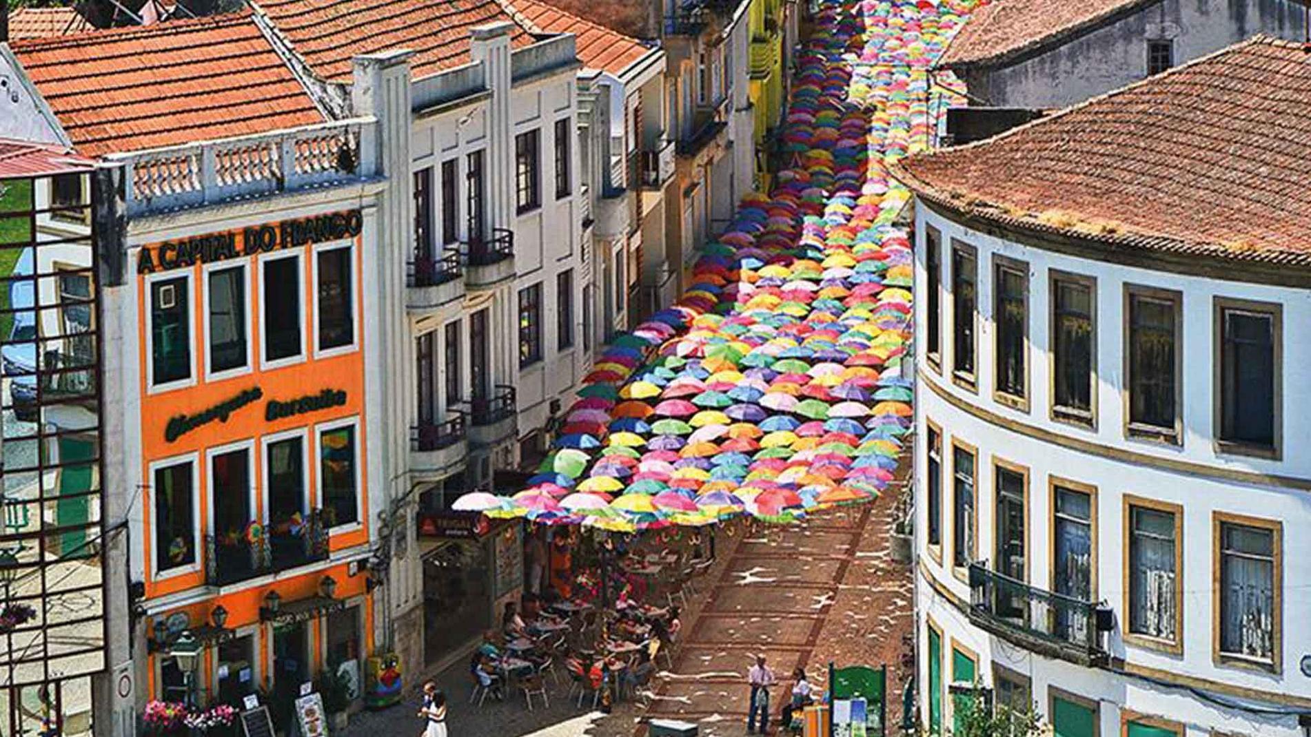 Umbrella Sky, a viral idea of urban design