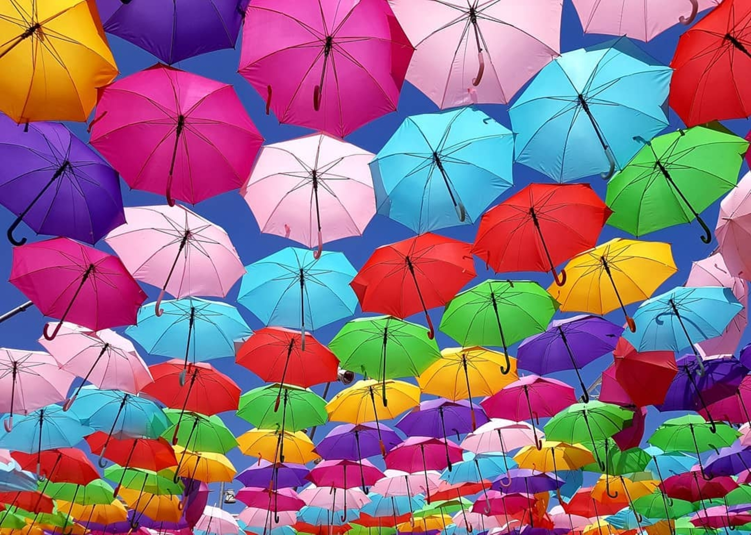 Umbrella Sky Project - Aix-en-Provence'19