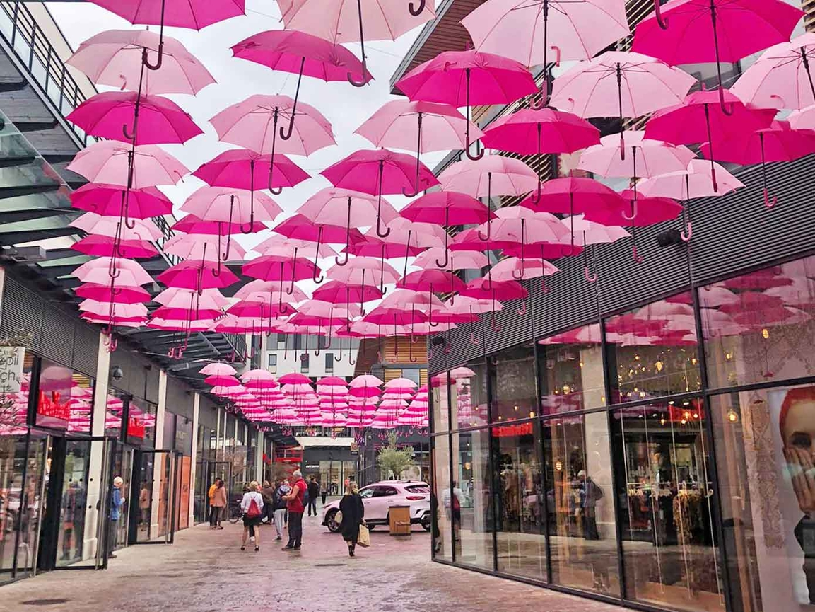 Pink Umbrella Sky Project - Bourges'19