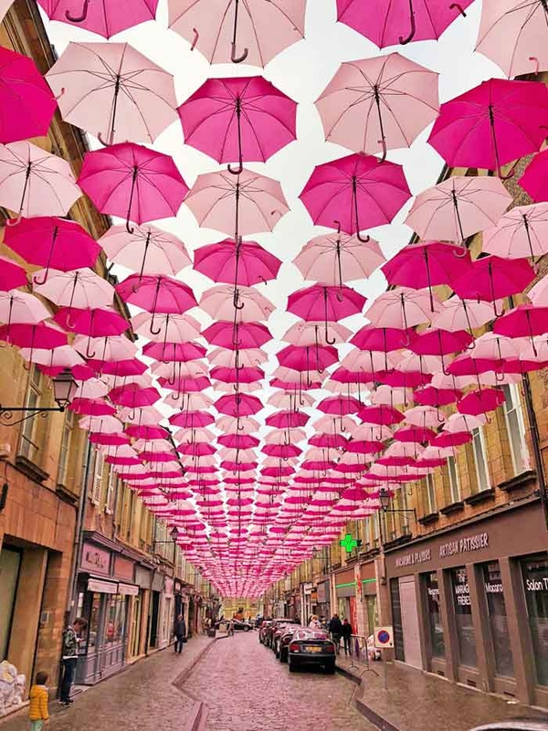 Pink Umbrella Sky Project - Charleville-Mézières'192
