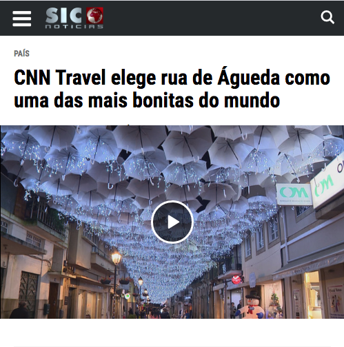CNN Travel chooses Águeda street as one of the most beautiful in the world 0