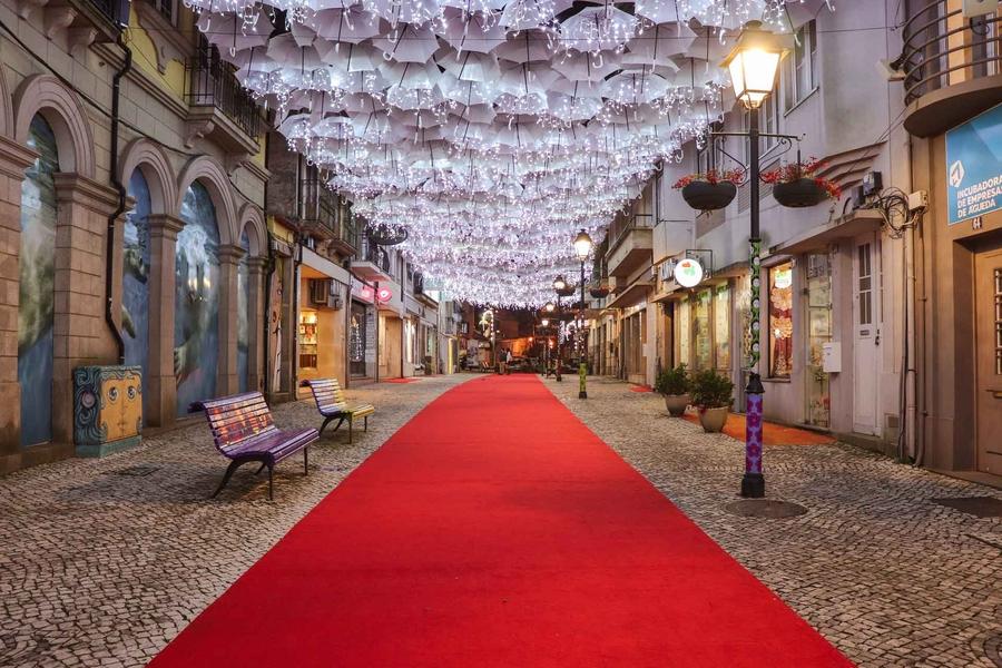 Umbrella Sky Project - Natal em Águeda'19