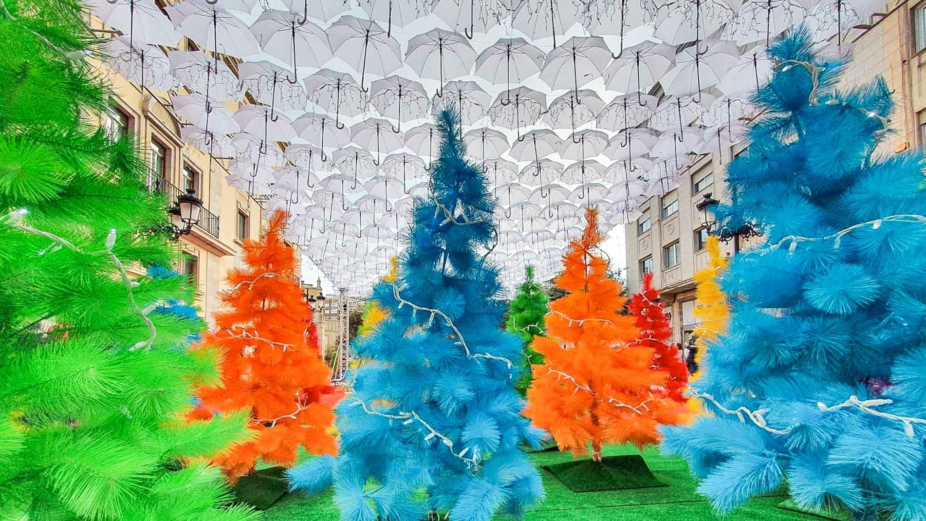 Umbrella Sky Project - Castelló de La Plana'19