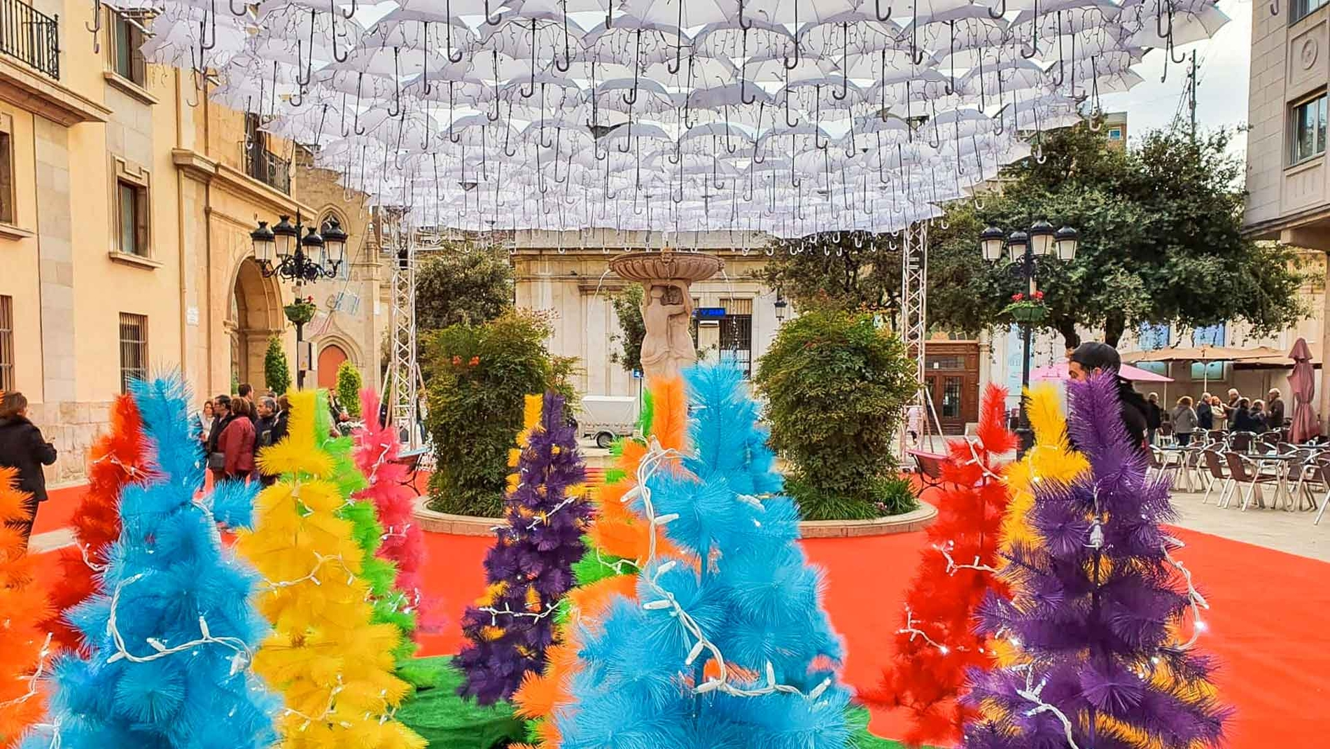 Umbrella Project Natalício em Castelló de La Plana
