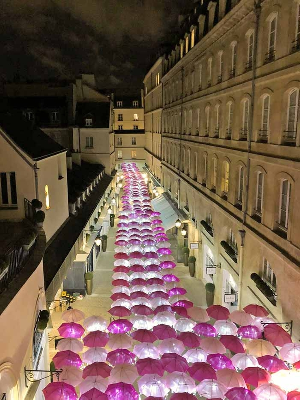 Pink Umbrella Sky Project - Paris'201