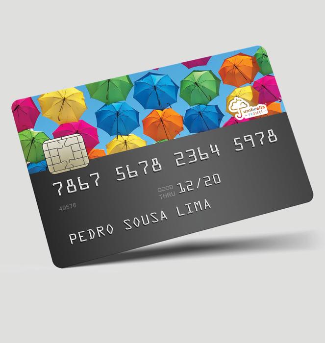 Vinil para cartão multibanco 0