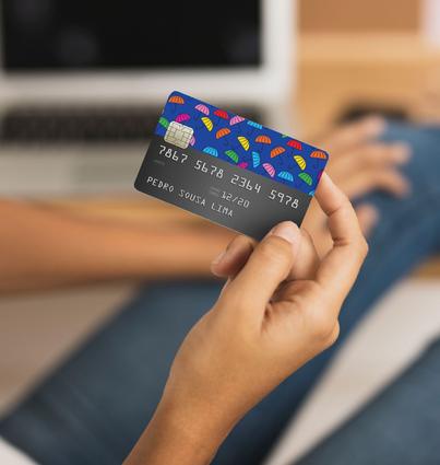 Vinyle pour carte ATM