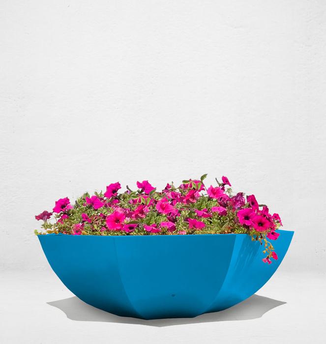 Floreira sem bengala 6 - Azul/Blue