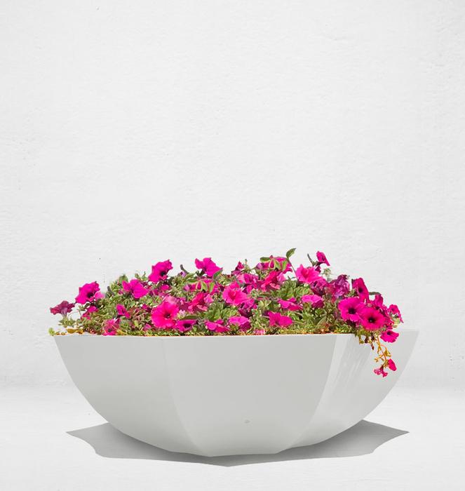 Floreira sem bengala 7 - Branco/White
