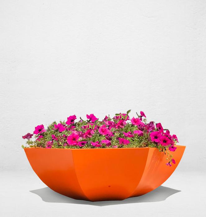 Floreira sem bengala 10 - Laranja/Orange