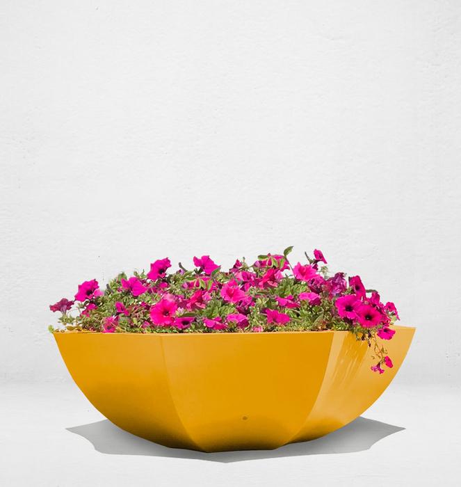 Floreira sem bengala 10 - Amarelo/Yellow