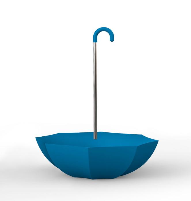 """Colorful """"Umbrella"""" Bench 1 - Azul/Blue"""