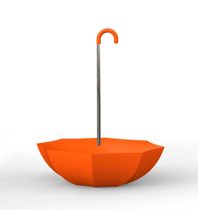 "Colorful ""Umbrella"" Bench 3 - Laranja/Orange"