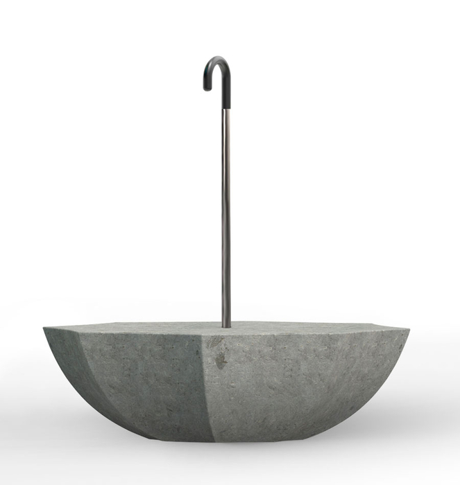 "Banco de cimento ""Umbrella"" 0"