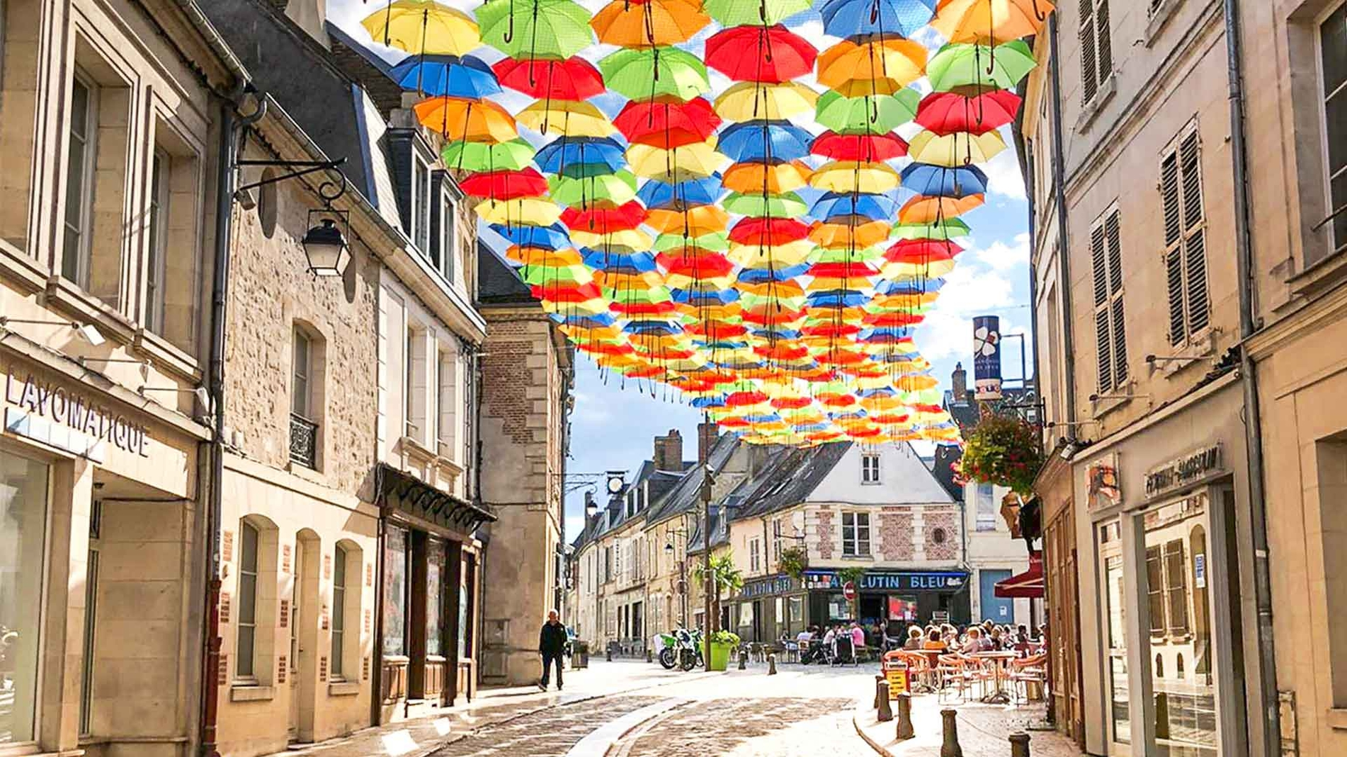 Umbrella Sky Project e Shiny Rain - Laon'20