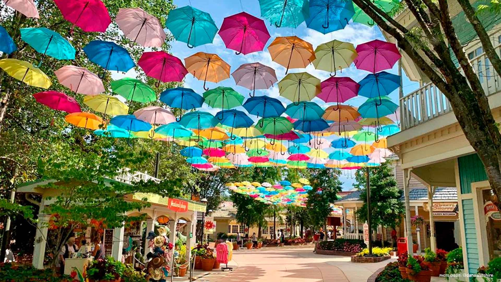 Umbrella Sky Project - Pigeon Forge, TN'20