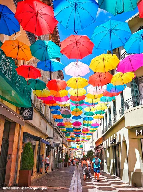 Umbrella Sky Project - Carcassonne'202