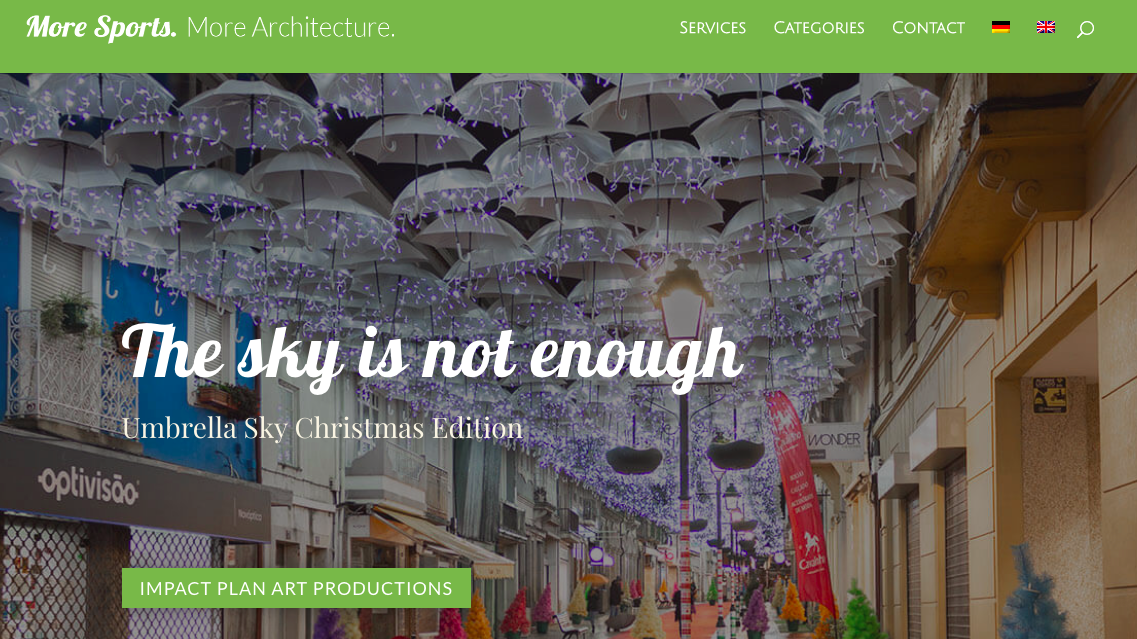 The Sky is not enough - Umbrella Sky, Christmas Edition 1