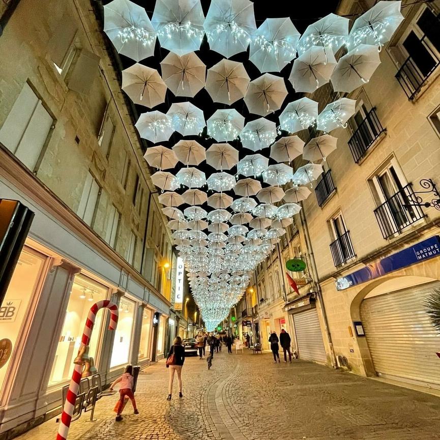 Umbrella Sky Project - Noël Libourne'20