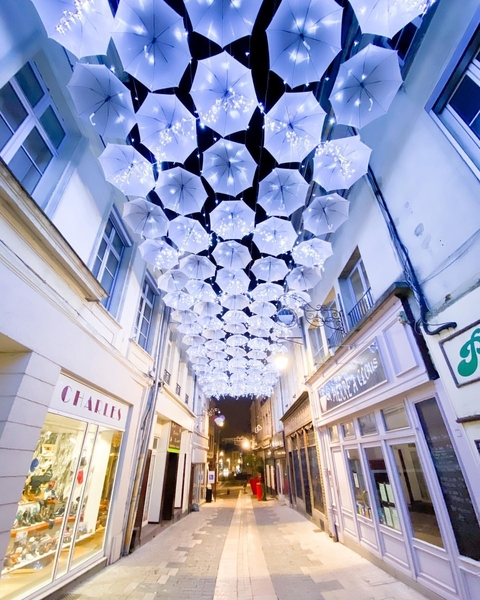 Umbrella Sky Project - Natal Laon'20