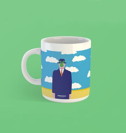 "Mug ""The Son of Man"""